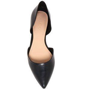 Aldo Black Neroli Flats Shoes